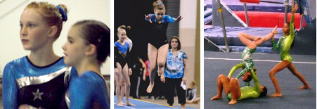 Gymnastics SA teams!